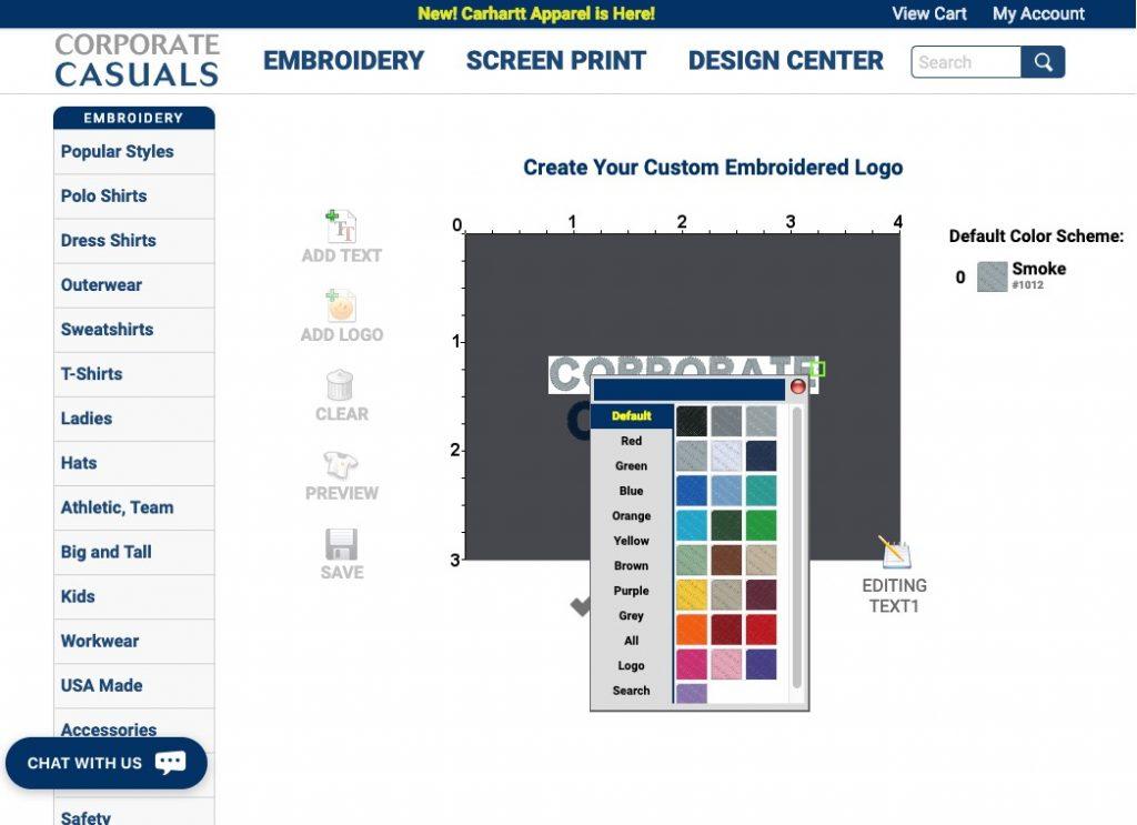 Corporate Casuals design studio
